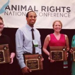 Unny Receives the Hinry Spira Award a the Animal Rights 2013 Conference