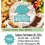 Twin Cities Veg Fest flyer