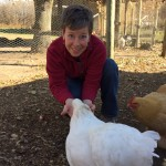 Suzy and chickens