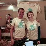 Liz and Freeman at Twin Cities Veg Fest 2013