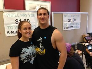 Ryan and Jessica at TCVF
