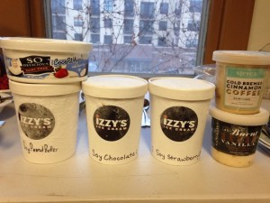 Ice Cream at the 2015 Town Hall Meeting - thanks to Laura vanZandt for taking this photo