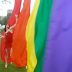 Vegan cookbook author Mistress Ginger revels in rainbows at Pride 2010