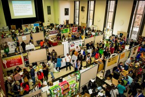 The Exhibitor Hall at Twin Cities Veg Fest 2015