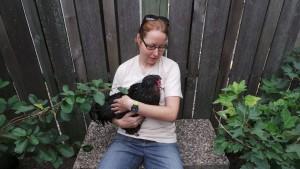 Brita at Chicken Run Rescue
