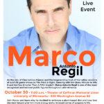 Mexican TV star Marco Antonio Regil speaks at Twin Cities Veg Fest on Sunday, October 30!