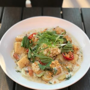 Book Club's Green Curry Rice Bowl won last year's challange
